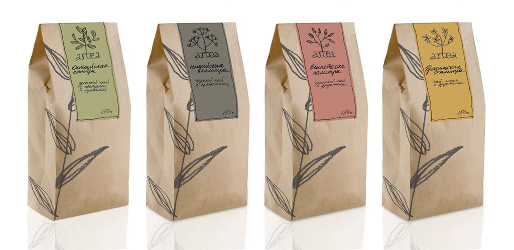 Купить пакет крафт для чая
