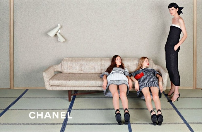Chanel spring / summer campaign